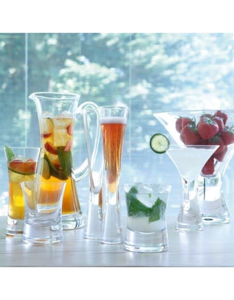 LSA International Moka Champagne Flute, Set of 2 Clear
