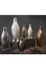 BIDK Home Sm. Lacquer Penguin - White 19in