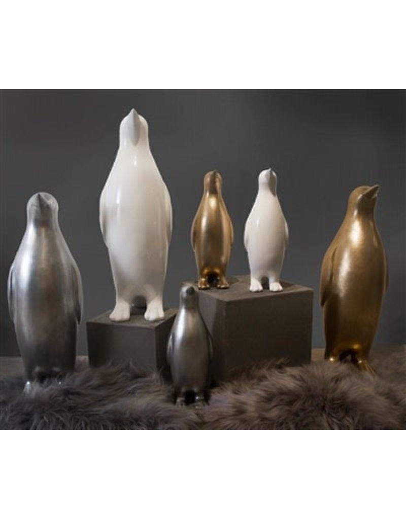 BIDK Home Small Lacquer Penguin- Gold Wash 19in