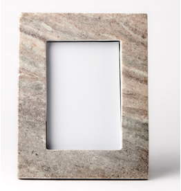 BIDK Home Brown Galaxy Marble Picture Frame- 4x6