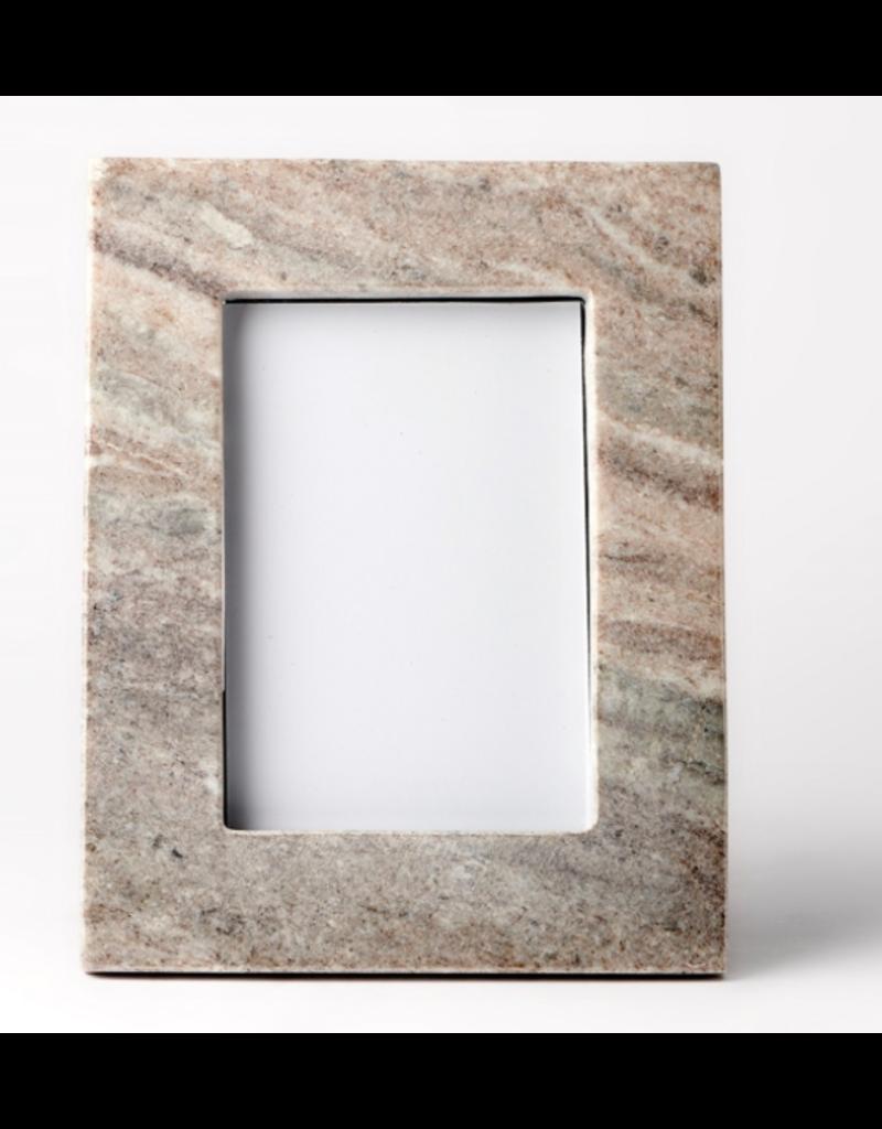 BIDK Home Brown Galaxy Marble Picture Frame- 4x6