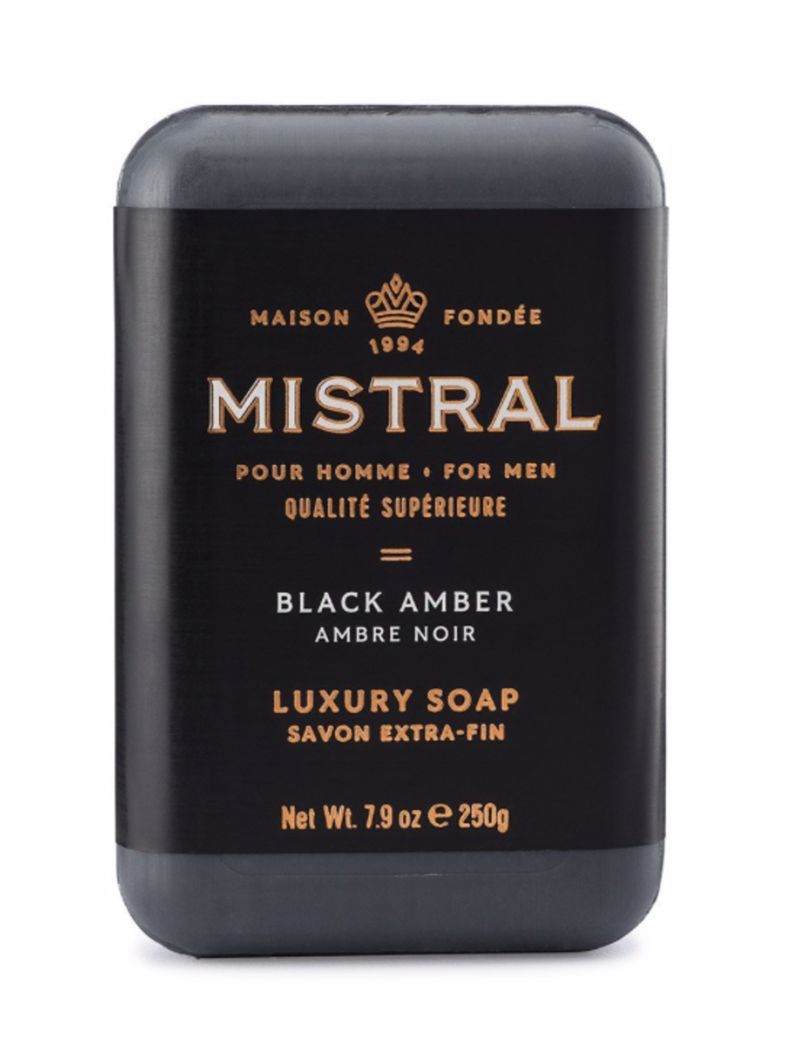 Mistral Black Amber Soap 8.8oz