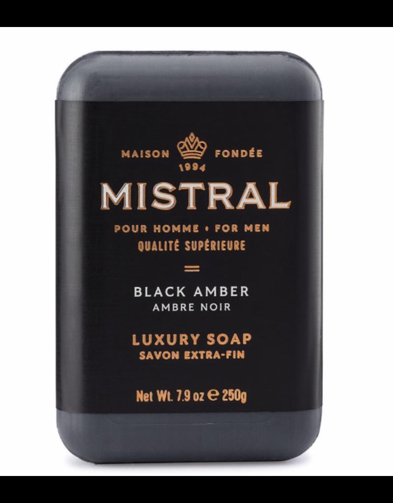 Mistral Black Amber Soap 8.8oz