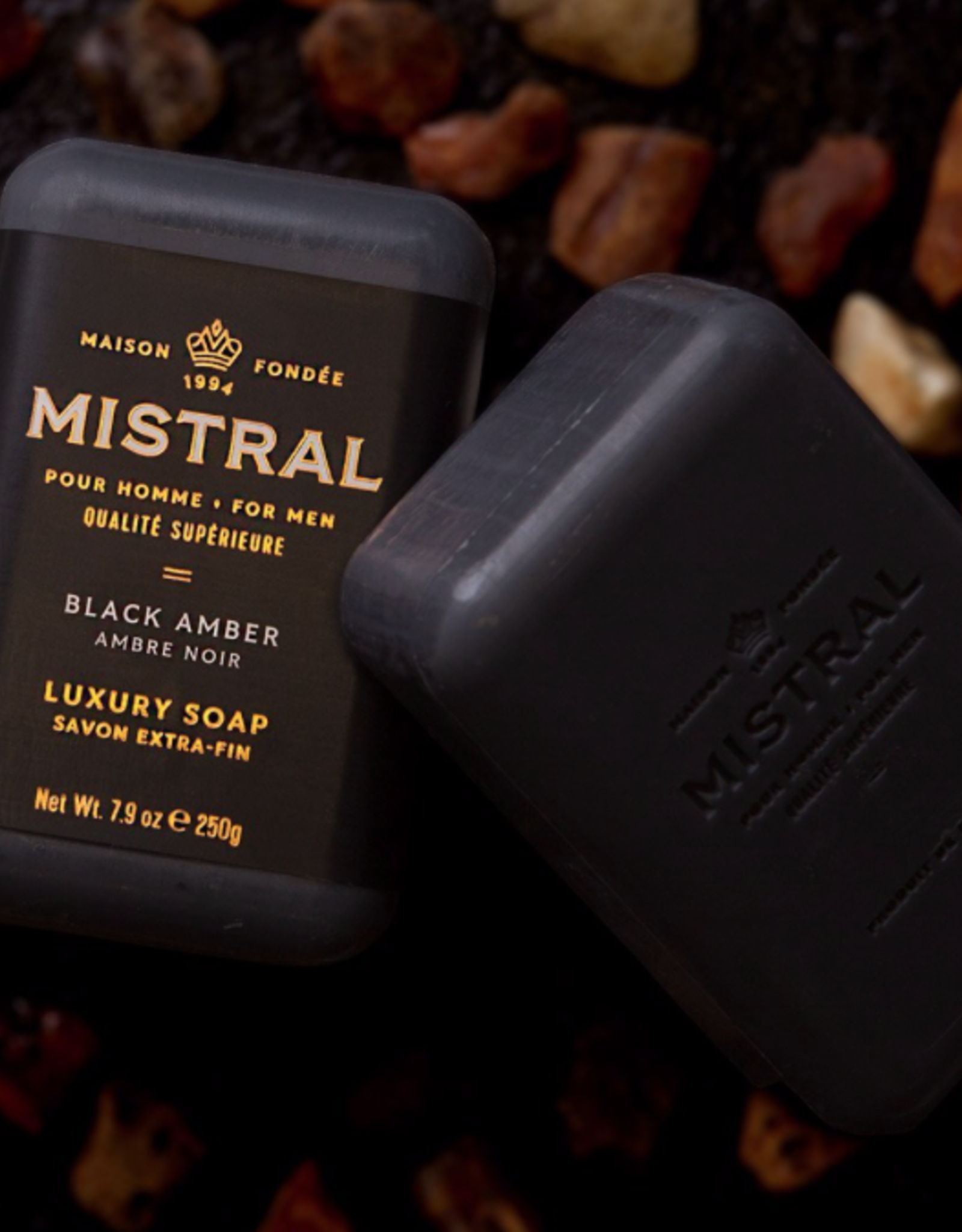 Black Amber Soap 8.8oz