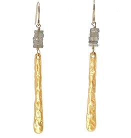 Mickey Lynn Labradorite Branch Earrings