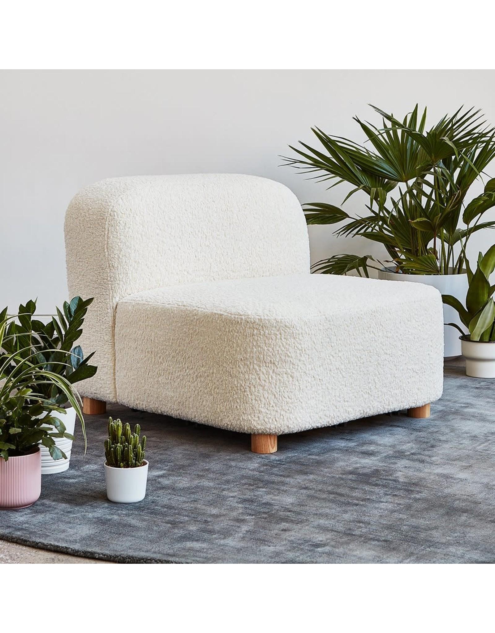 Circuit Modular Armless Chair