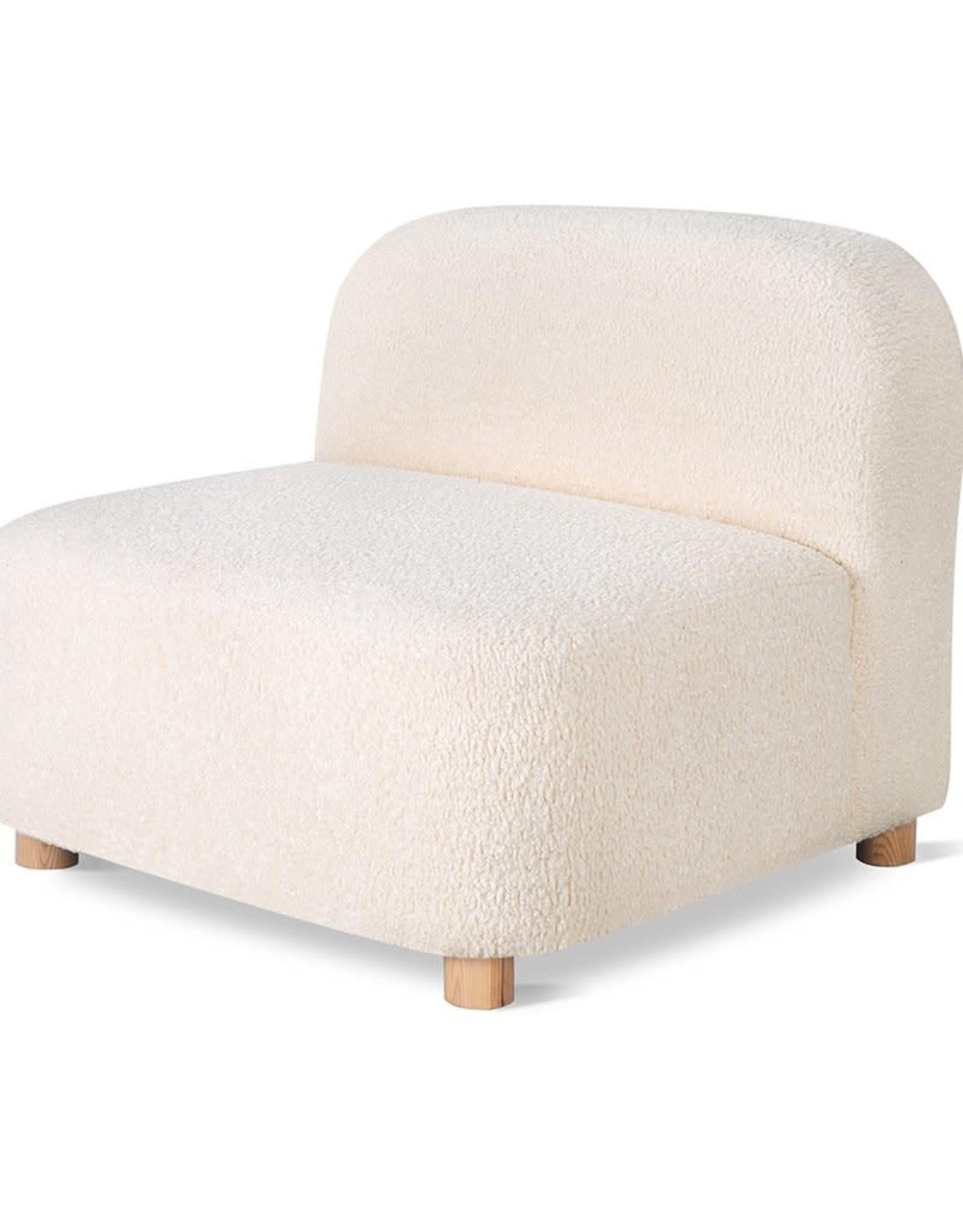Gus* Modern Circuit Modular Armless Chair