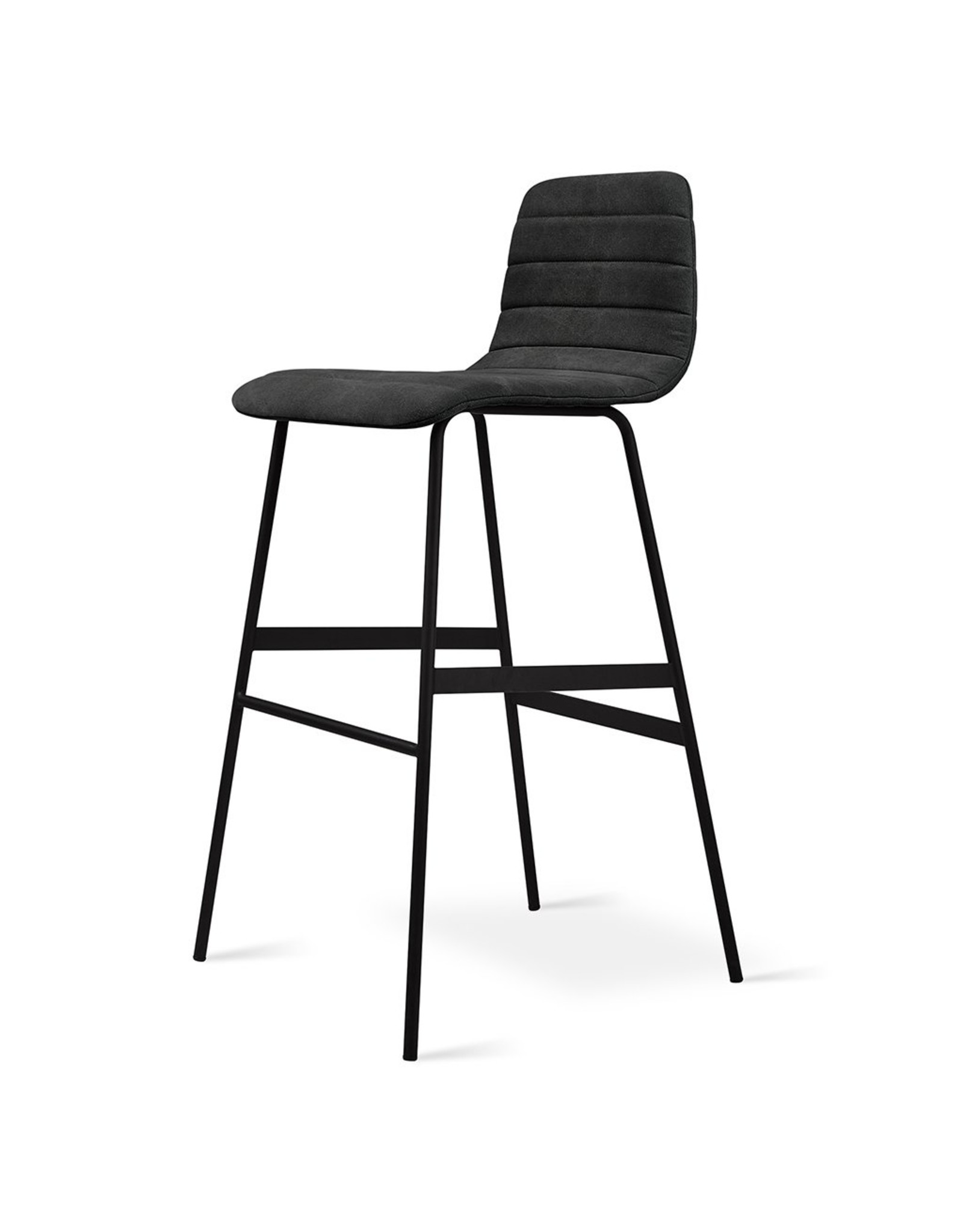 Gus* Modern Lecture Upholstered Barstool