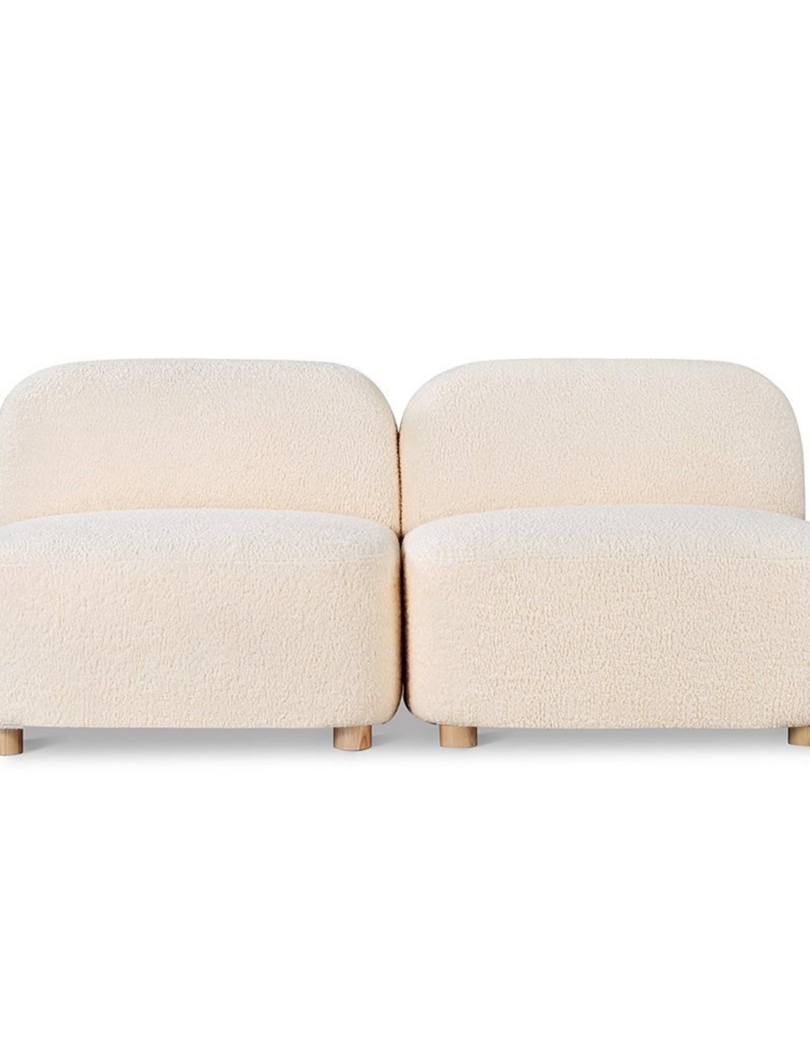 Gus* Modern Circuit Modular 2-Pc Armless Sofa