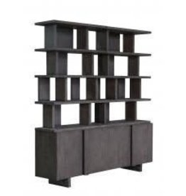 Carrell Media Cabinet and Shelves