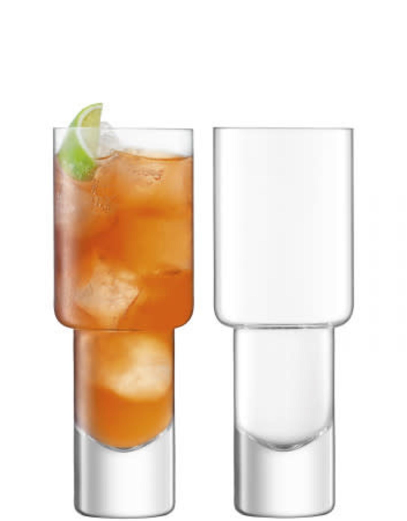 Vodka Mixer Glass 13.5OZ x2