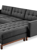 Gus* Modern Jane 2 Bi-Sectional, Walnut
