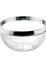 Guzzini Look Bowl 24cm, Chrome