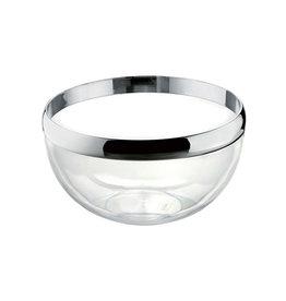 Look Bowl 24cm, Chrome