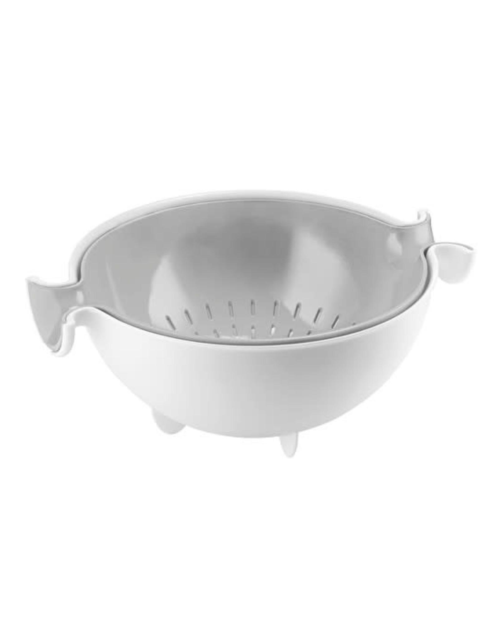 Guzzini My Kitchen Colander and Bowl Set Spin&Drain