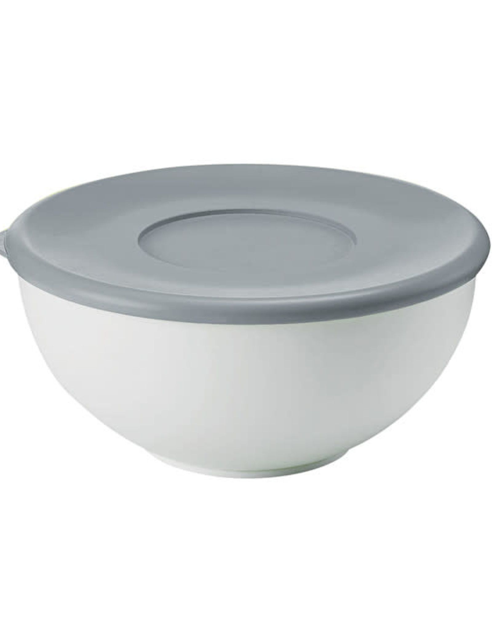 Guzzini My Kitchen Container with Mat Grey lid Large