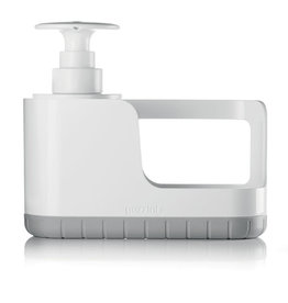 Guzzini Sink Tidy w/ Soap Dispenser, Grey