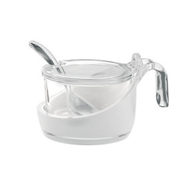 Guzzini Two-Tone Parmesan Server, Transparent