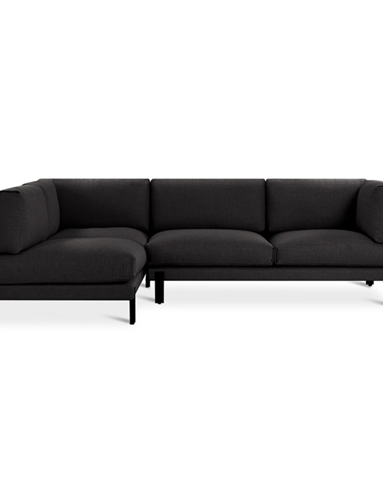 Gus* Modern Silverlake Sectional, Left-facing