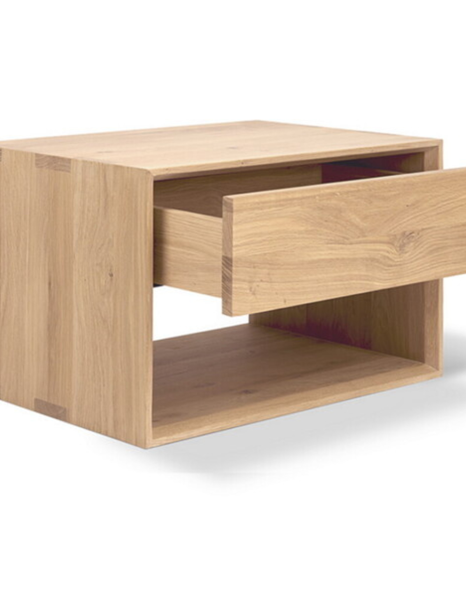 Ethnicraft USA LLC Oak Nordic II Bedside Table