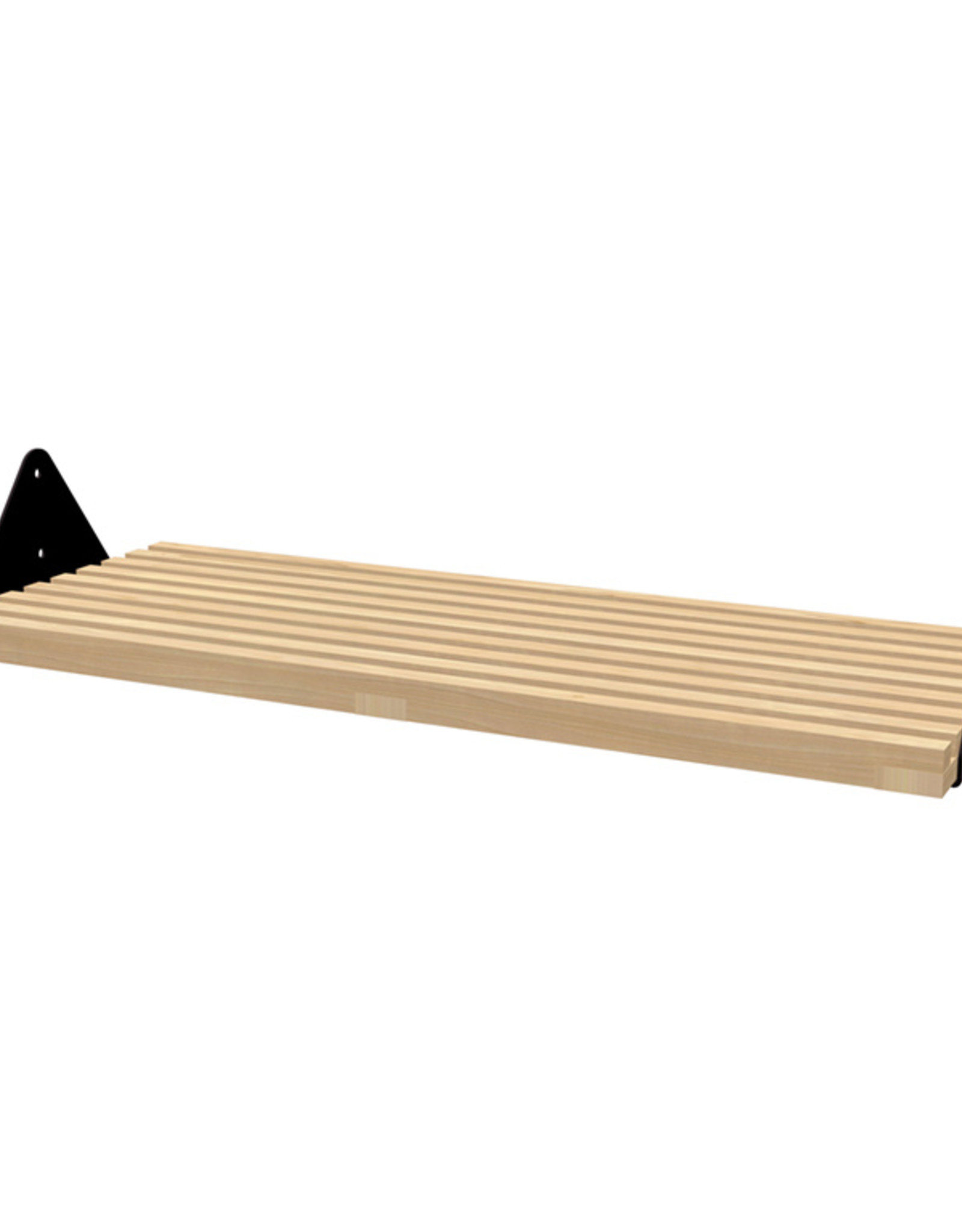 Gus* Modern Branch Slatted Shelf, 1-Pack