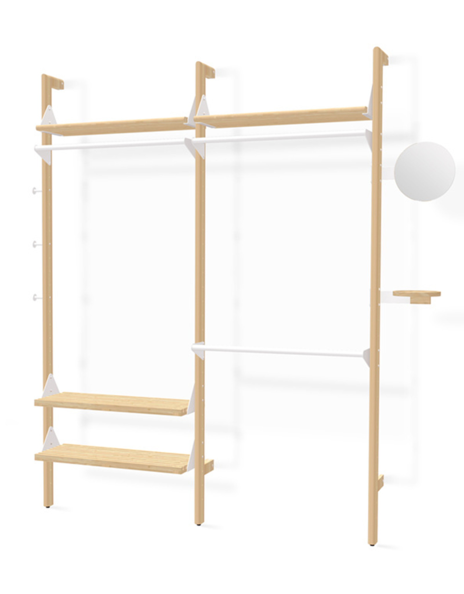 Gus* Modern Branch 2 Wardrobe Unit