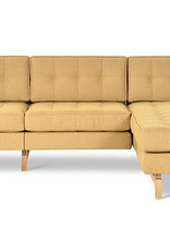 Gus* Modern Jane 2 Bi-Sectional, Natural Ash Base