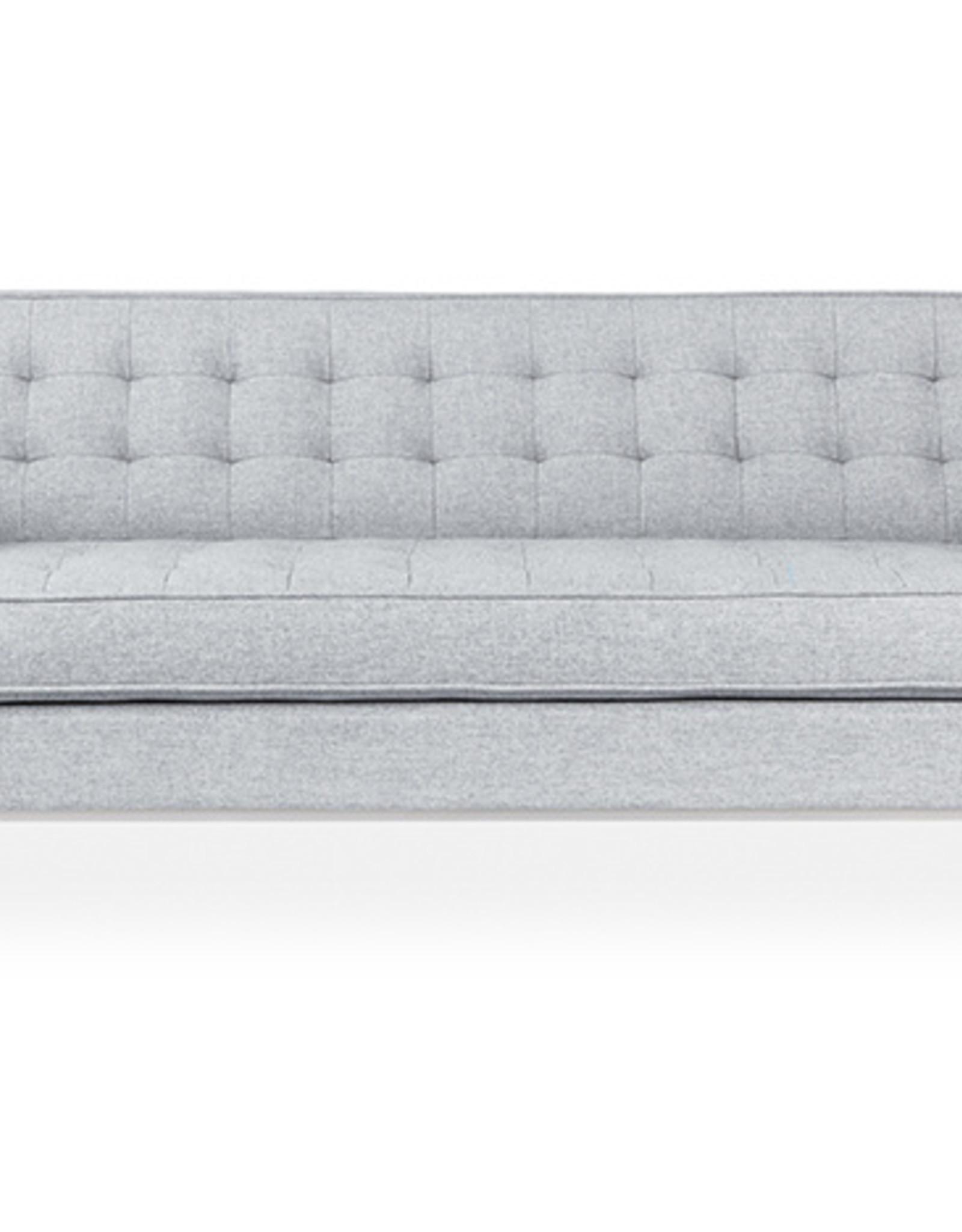 Gus* Modern Spencer Sofa, Stainless Steel Base