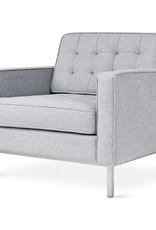 Gus* Modern Spencer Chair, Stainless Steel Base