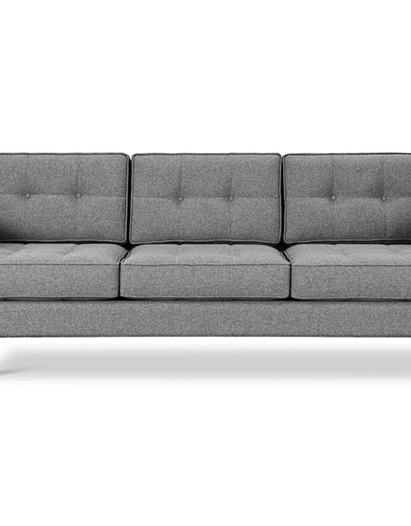 Gus* Modern Jane 2 Sofa, Walnut Base