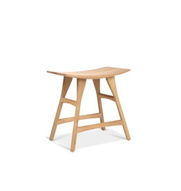 Ethnicraft USA LLC Osso Stool, Oak