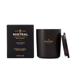 Mistral Black Amber Candle 11oz