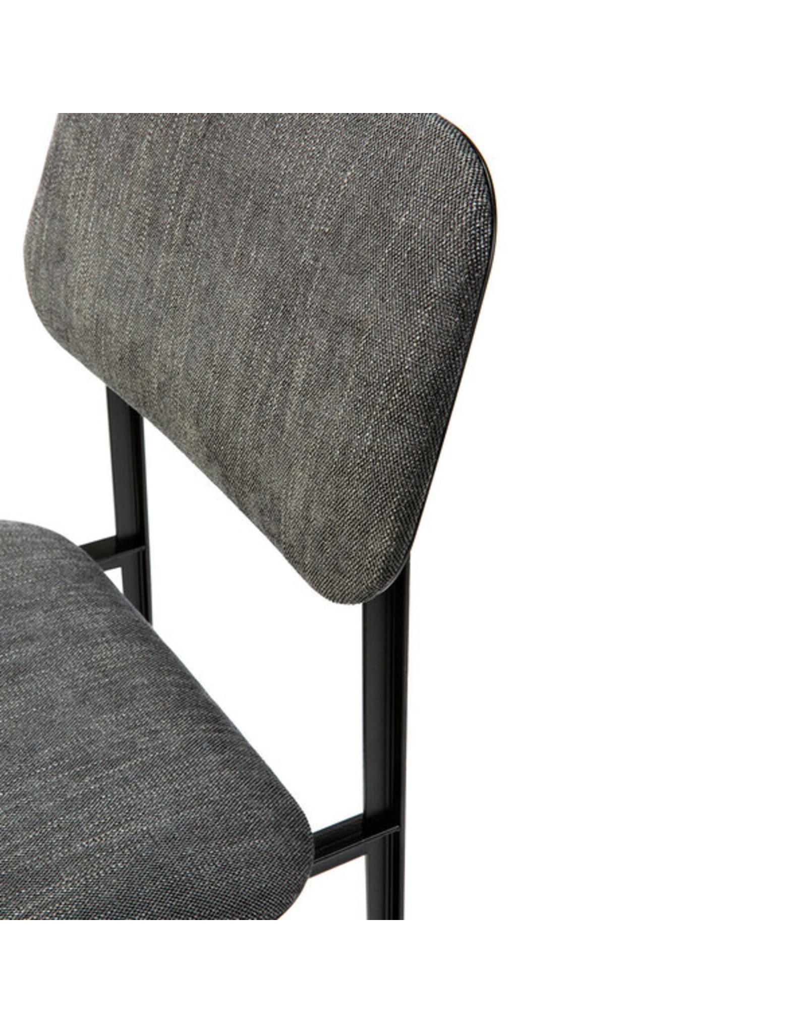 Ethnicraft DC Dining Chair, Dark Grey