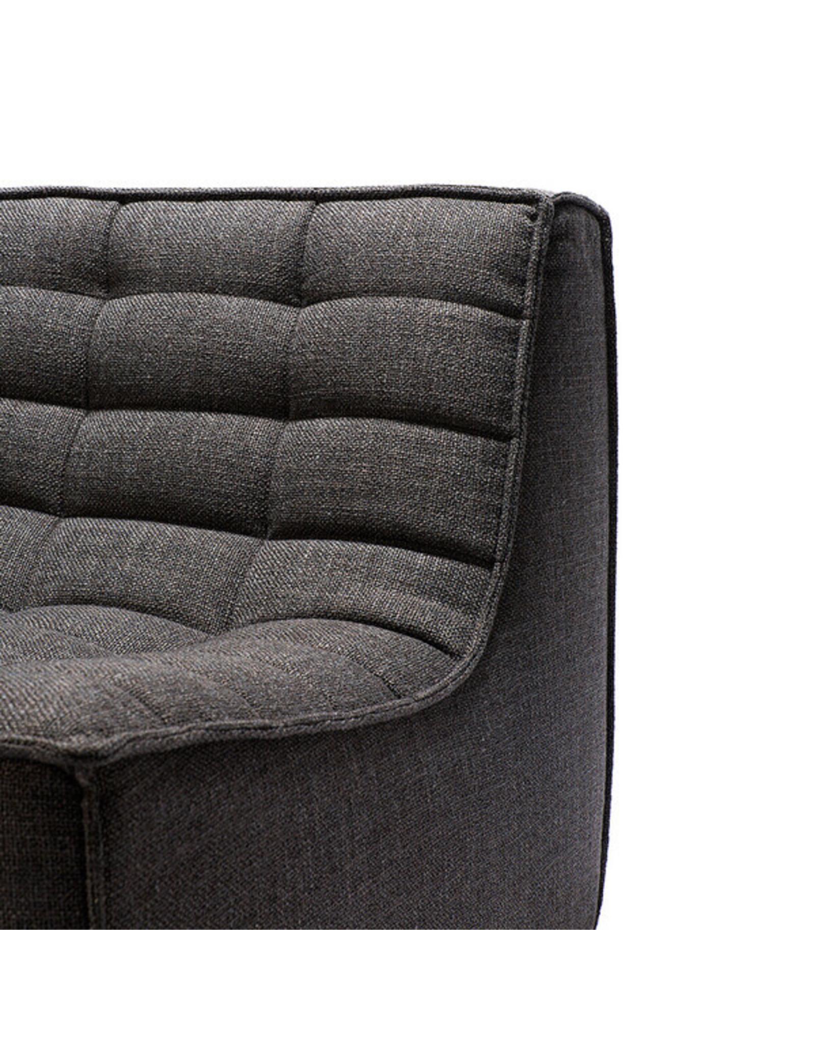 Ethnicraft N701 One Seater, Dark Grey