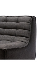 N701 Sofa - Two Seater, Dark Grey