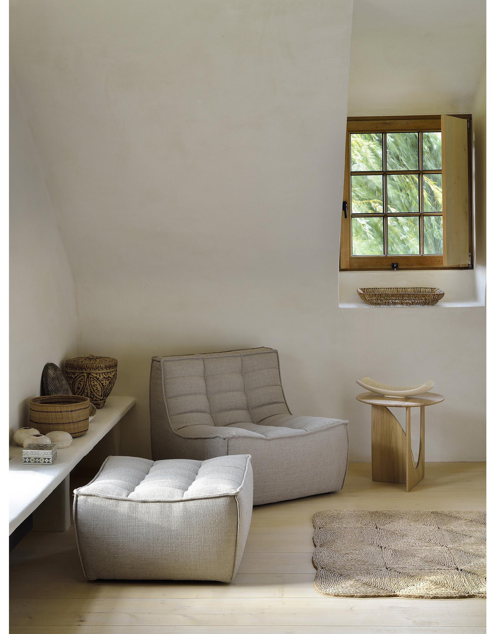 Ethnicraft N701 Footstool - Beige