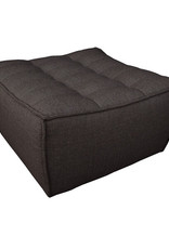 N701 Footstool, Dark Grey