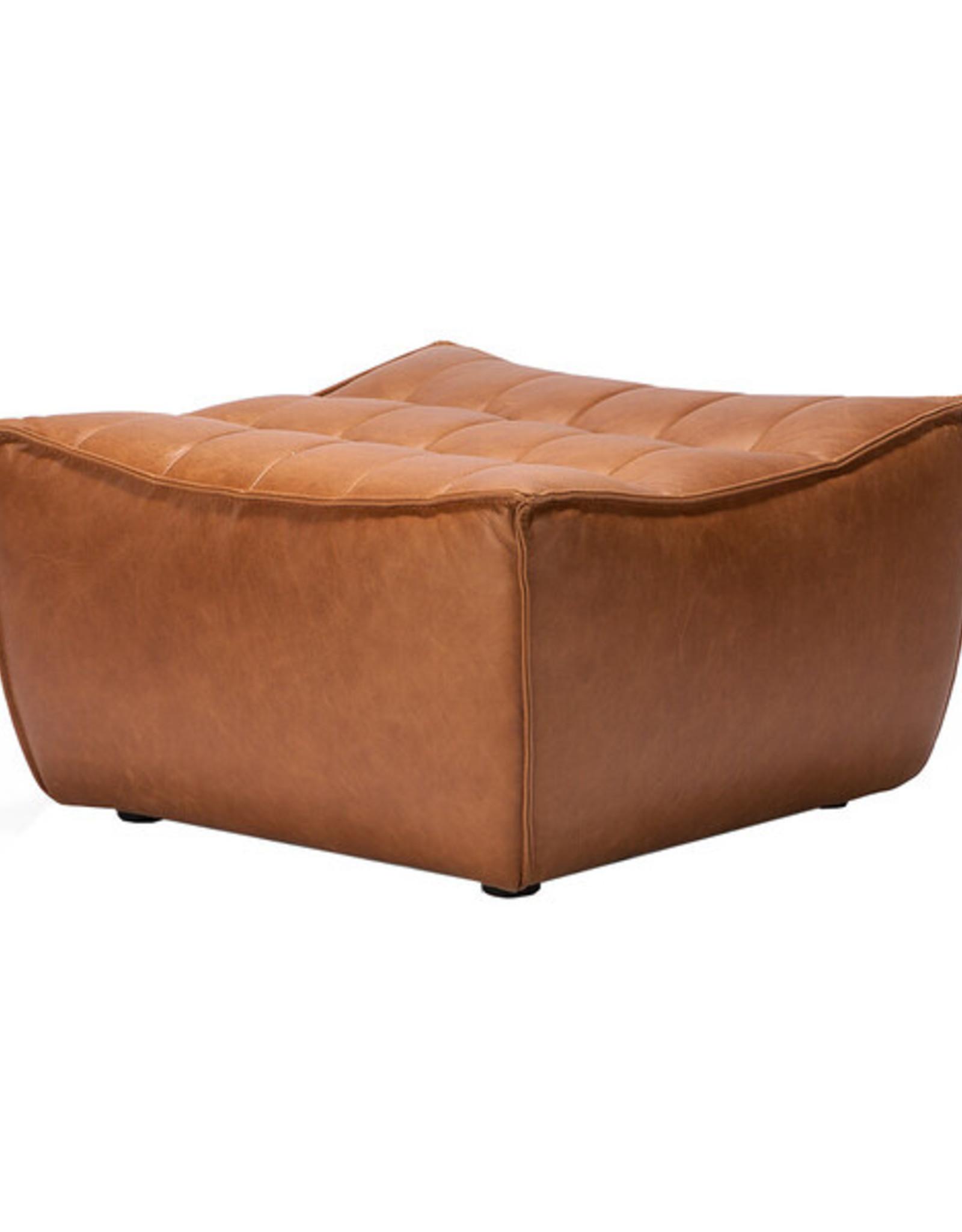 N701 Footstool - Old Saddle