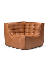 Ethnicraft N701 Sofa Corner - Old Saddle