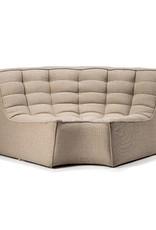 N701 Sofa Round Corner - Beige