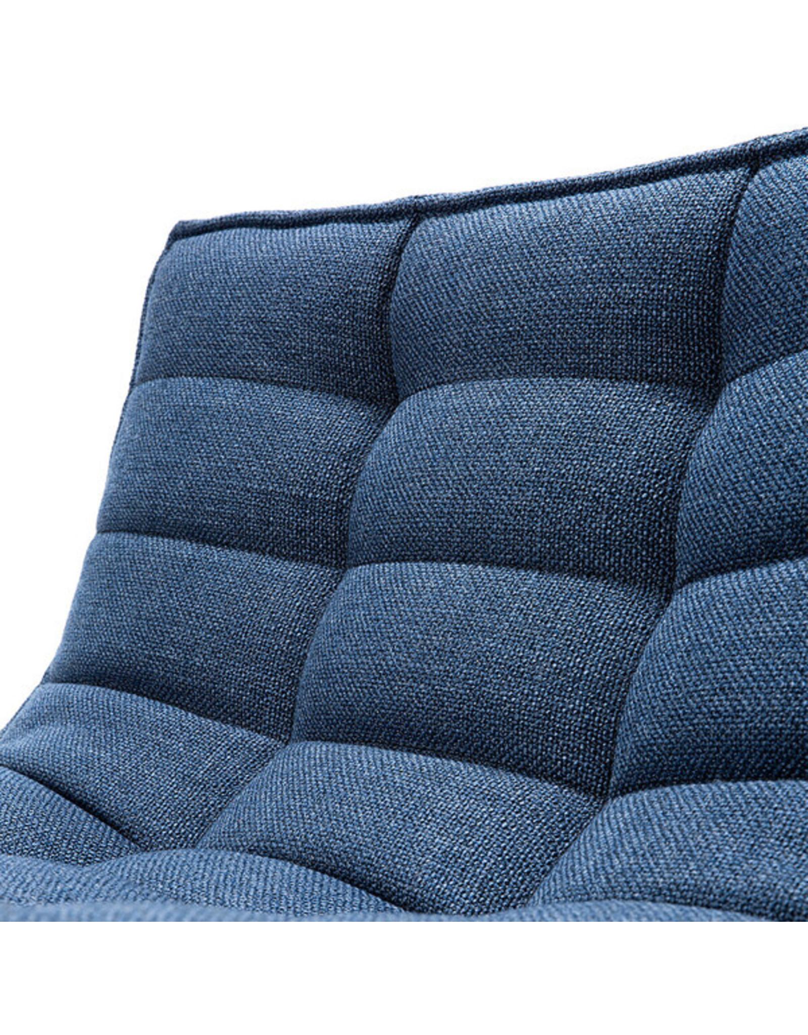 Ethnicraft N701 Sofa Round Corner - Blue