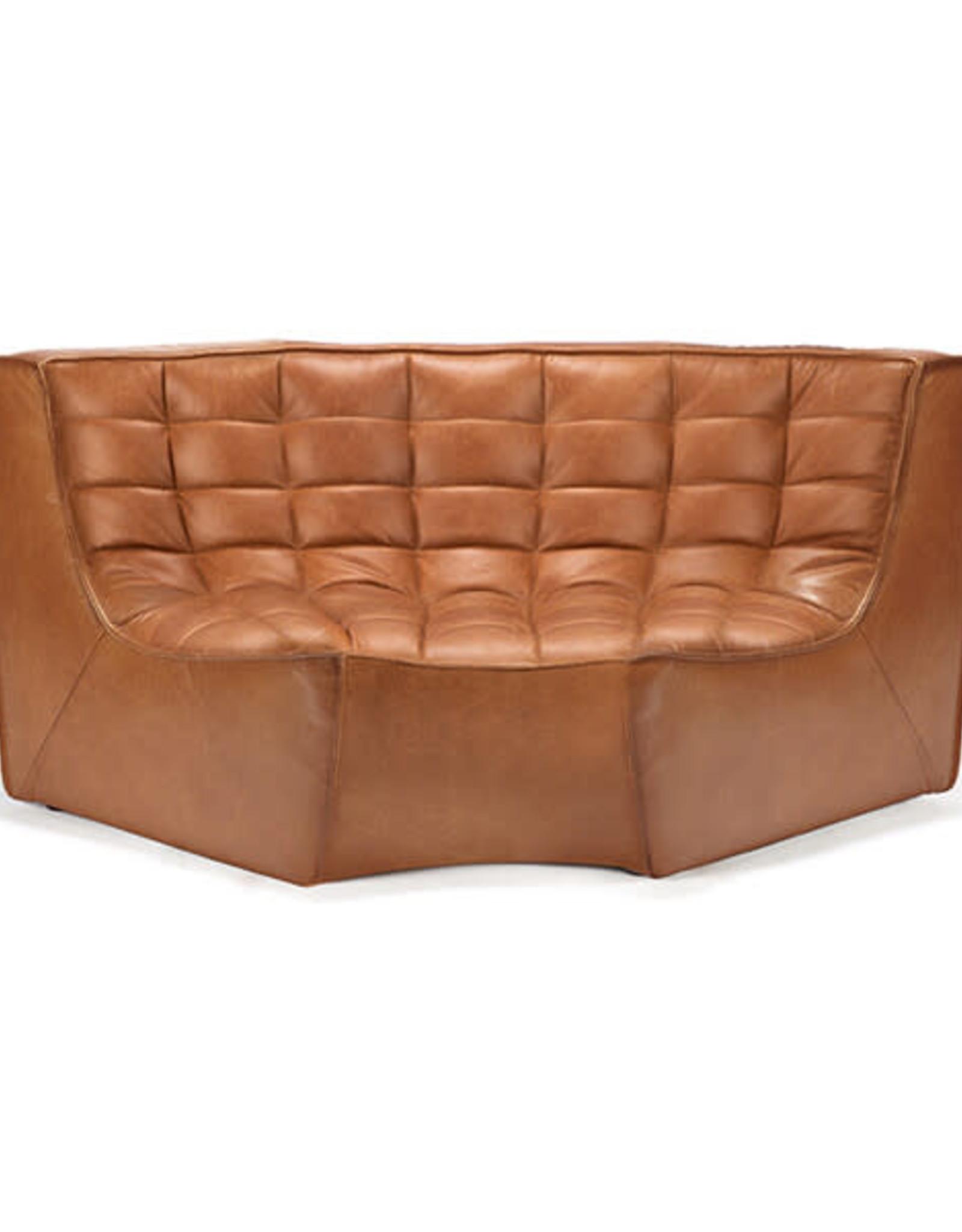 N701 Sofa Round Corner - Old Saddle