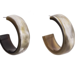 Vivo Genuine buffalo horn 1/2 IN wide