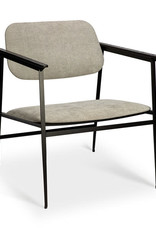 DC lounge chair - light grey