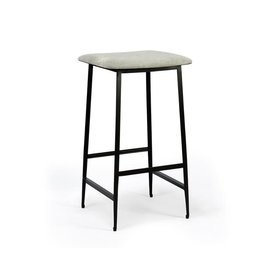 Ethnicraft DC counter stool (without backrest) - light grey