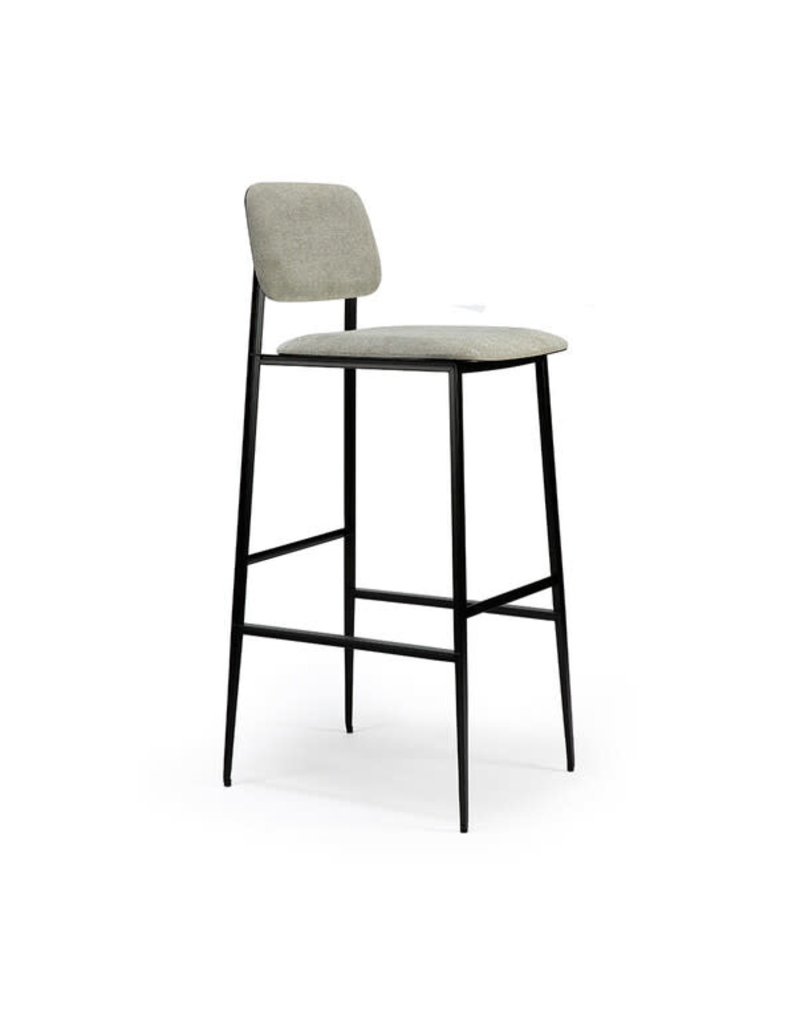 Ethnicraft DC bar stool - light grey