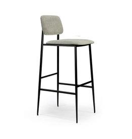 Ethnicraft DC bar stool - light grey