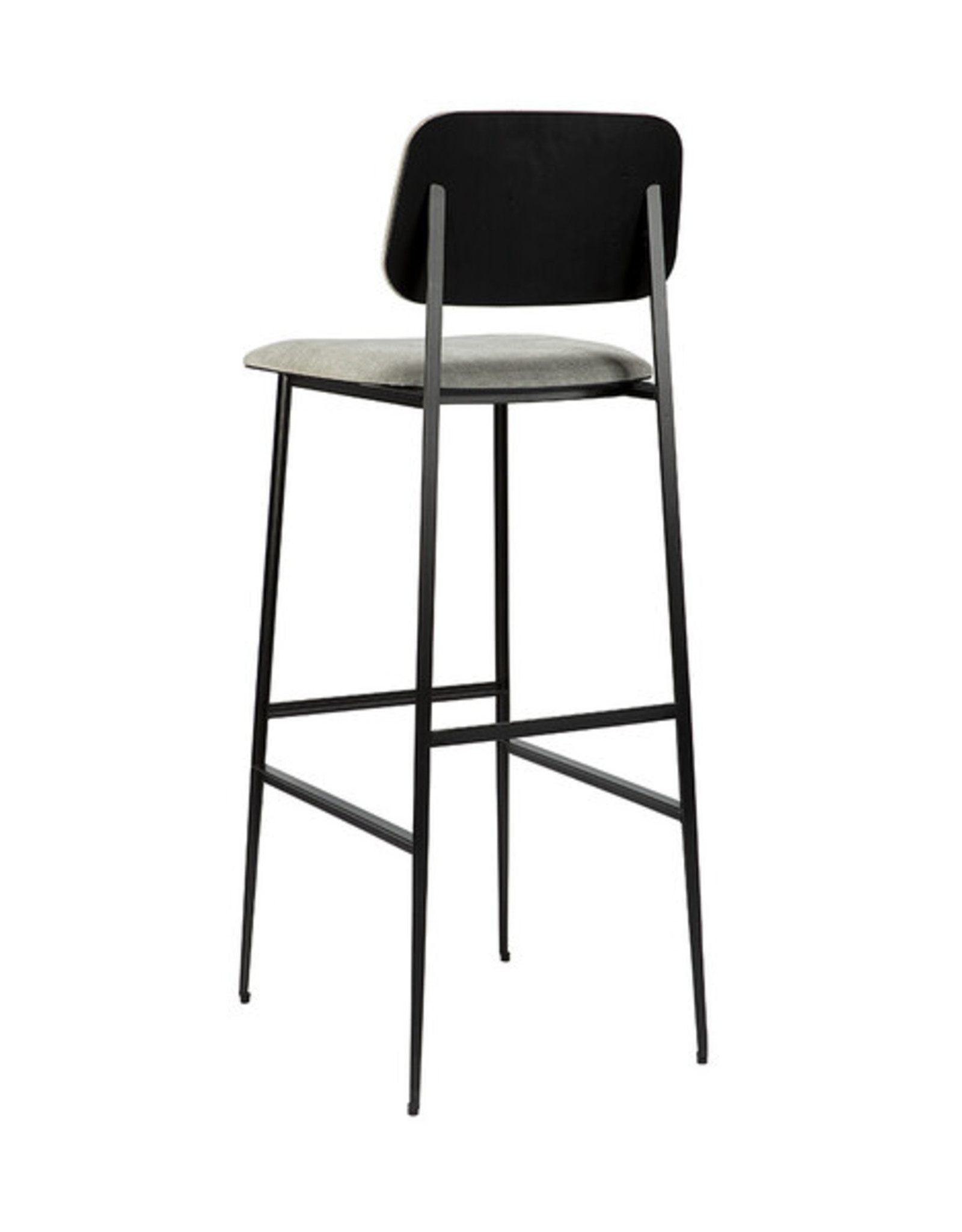 DC bar stool - light grey