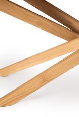 Oak Mikado coffee table - oval