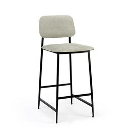 Ethnicraft DC counter stool - light grey